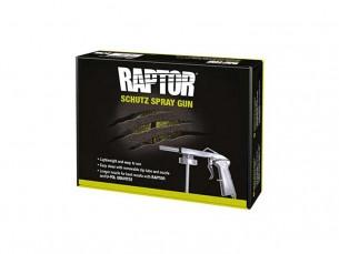 Pistola antigravilla y Raptor